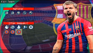 Download PES 2022 BARCELONA EDITION PPSSPP LITE 300MB Best Graphics Real Face & New Update Transfer