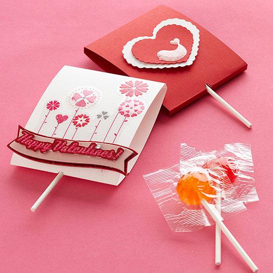 Valentinsdag Lollipops