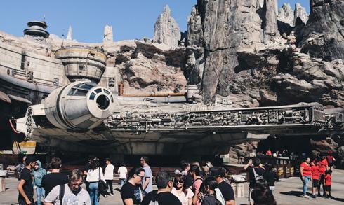 Millennium Falcon Smugglers Run Galaxys Edge Disneyland