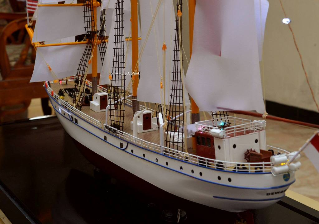 produsen miniatur kapal layar kri dewaruci rumpun artwork temanggung jawa tengah