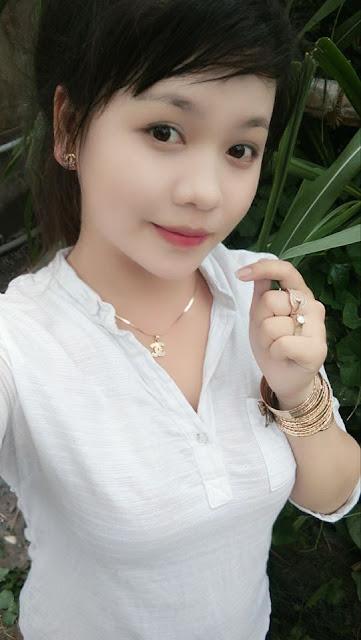Hình ảnh gái quê xinh đẹp mộc mạc và cực dễ thương