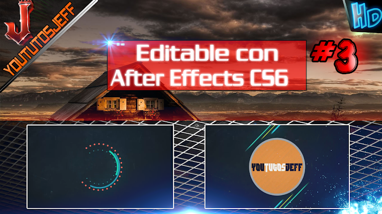 INTRO EDITABLE #3 CON AFTER EFFECTS CS6