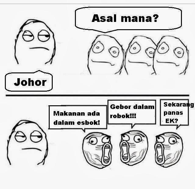 Typical reaksi Malaysian bila jumpa orang dari negeri lain