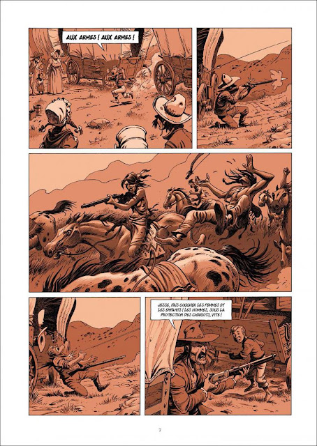 """page de """"LE VAGABOND DES ETOILES T2"""" de Riff Reb's d'après Jack London chez Soleil"""