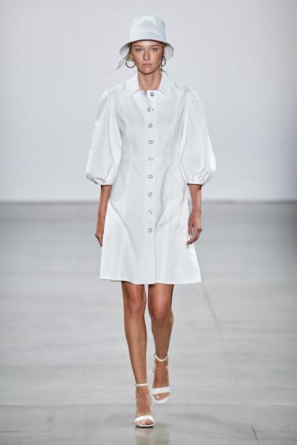 Модное платье весна-лето 2020 16