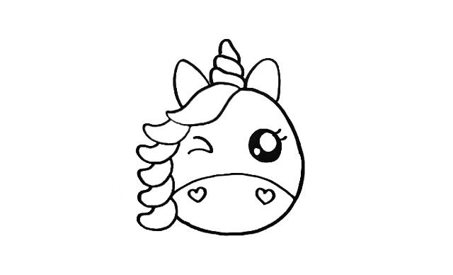 dibujos faciles y bonitos de unicornios
