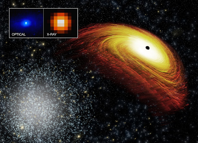 Astronomers pursue renegade supermassive black hole