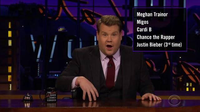 """James Corden tentang Carpool Karaoke , """"95 Persen Saya yang Mengendarai"""""""
