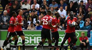 Susunan Pemain Stoke City vs Manchester United