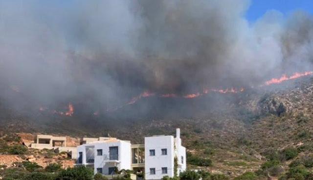 Ελαφόννησος: Το 1/4 του πανέμορφου νησιού έγιναν στάχτη