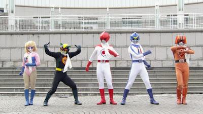 Battle Fever J Movie
