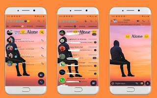 Alone Boy Theme For YOWhatsApp & Fouad WhatsApp By Leidiane