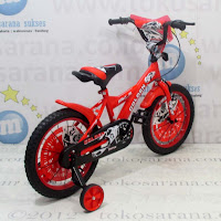 16in Golden Force BMX Kids Bike