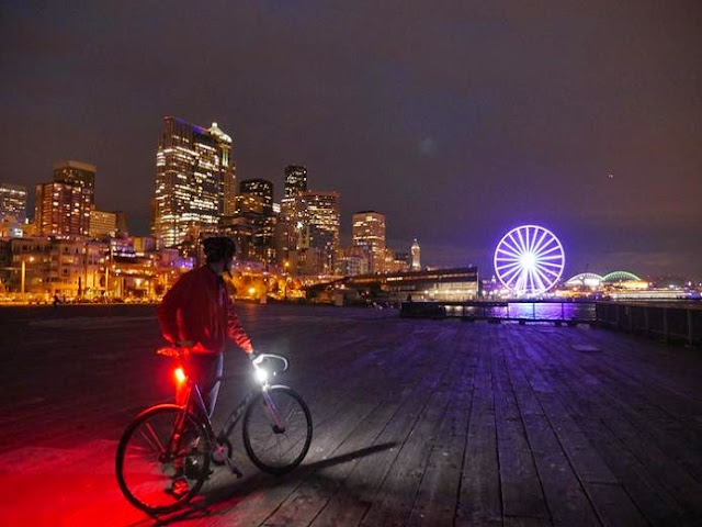 Safest and Brightest 360° Bike Lights