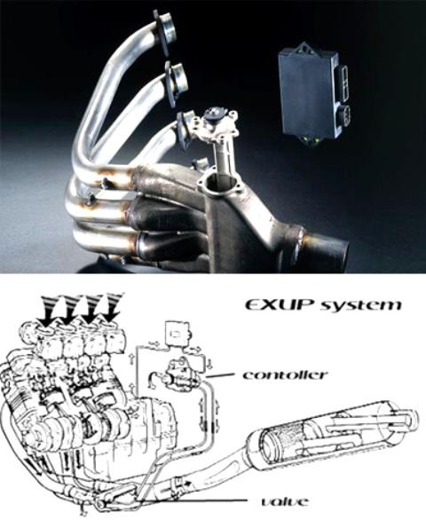 Knalapot Exup Yamaha 4 silinder