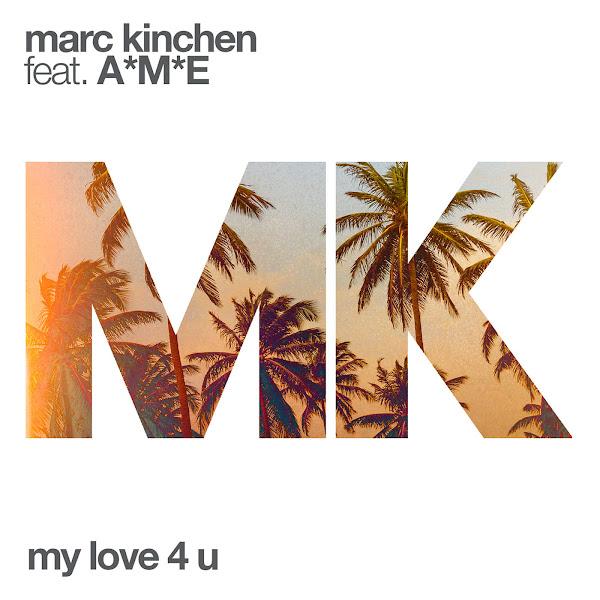 MK - My Love 4 U (feat. A*M*E) - Single Cover