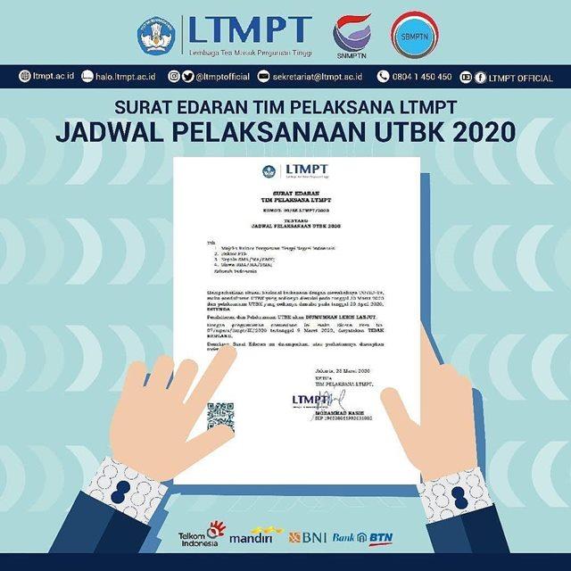 SNMPTN 2020 diundur-igspmb.uinjkt