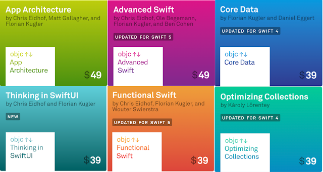 All IOS Books from Objc.io latest version that supports swift 5