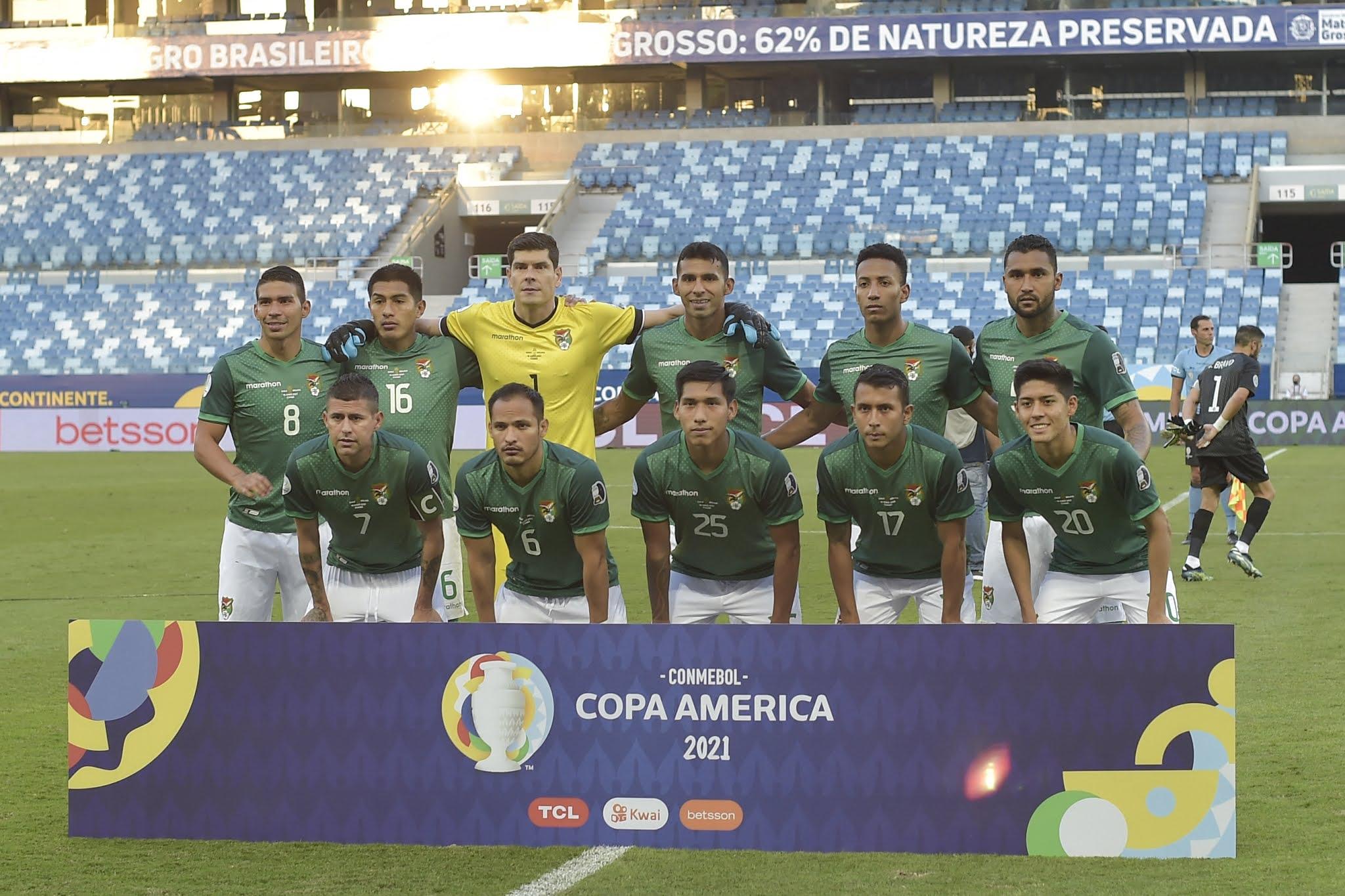 Formación de Bolivia ante Chile, Copa América 2021, 18 de junio