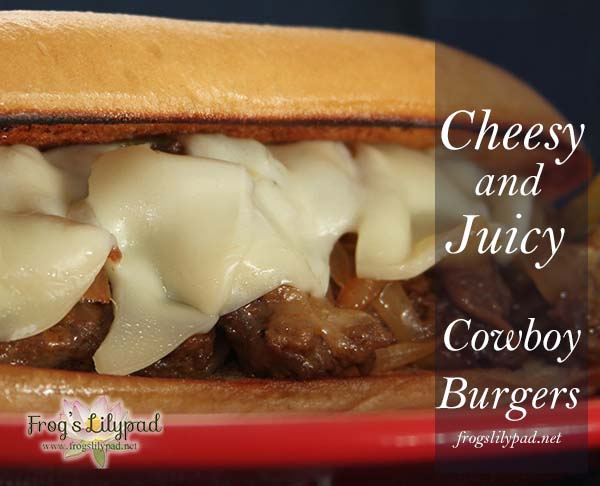 Cowboy Burgers Recipe: A Cowboy Style Philly Cheese Steak Sandwich