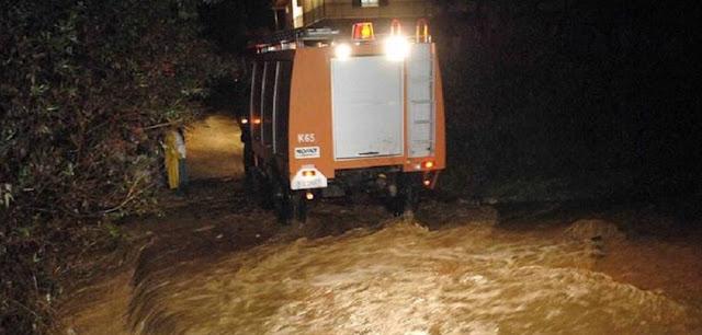 Θεσπρωτία: Απεγκλωβισμός από την Πυροσβεστική 4 ατόμων από τα οχήματά τους