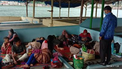 Lurah Tigaraja Himbau Wisatawan Taat Prokes COVID-19