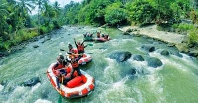 Rafting Sungai Citarik, Sukabumi