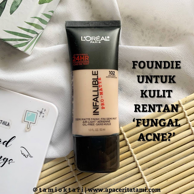 [REVIEW] L'oreal Infallible Pro-Matte Foundation 102 Shell Beige