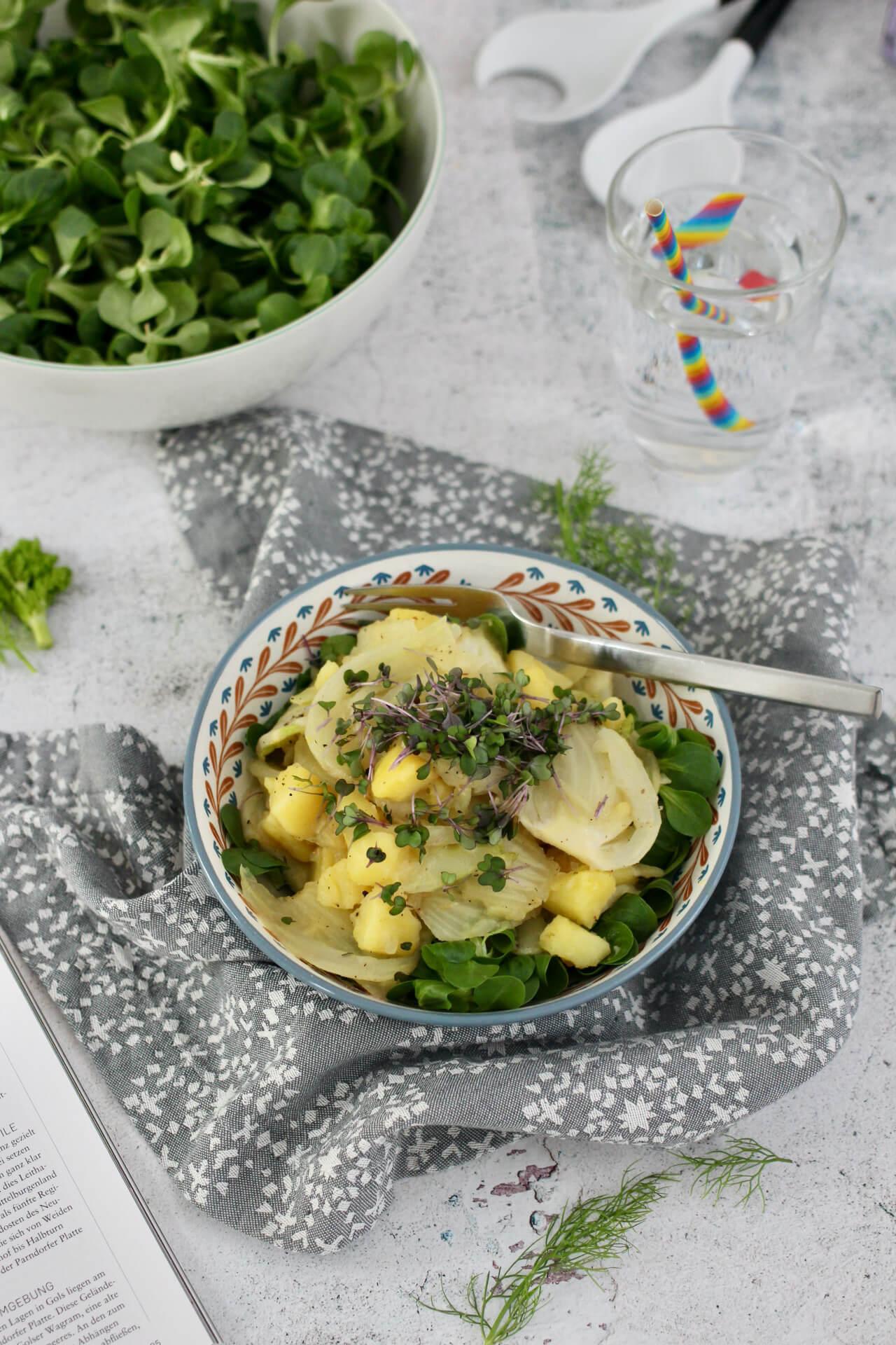 Kartoffel-Fenchelgemüse Rezept