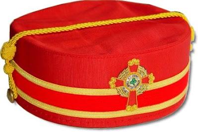 Knight Commander Court of Honour Cap