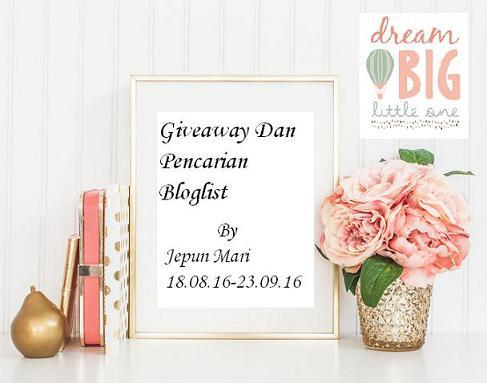 giveaway dan pencarian bloglist