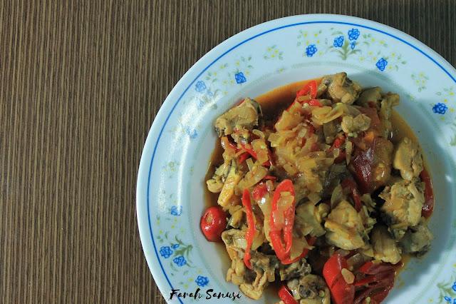Resepi Ayam Goreng Tomyam