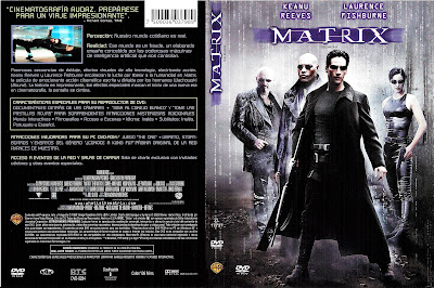 Carátula dvd: Matrix (1999) The Matrix