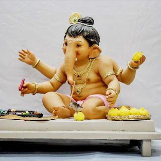 Bal Ganesh Murti By Vishal Shinde Murtikar HD Image Collection