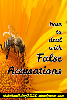 How to deal with false accusations