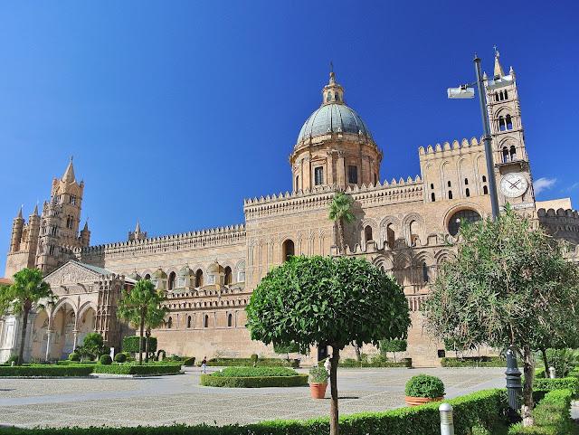 kopuła katedry w Palermo, zwiedzanie świątyni, Sycylia