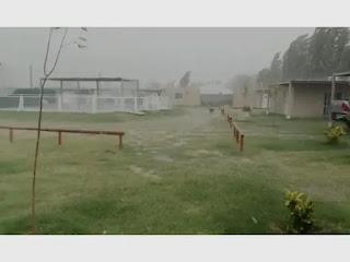 Tormenta que cambiaría el clima
