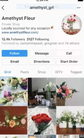 Instagram: Testes com novos modelos de perfil.