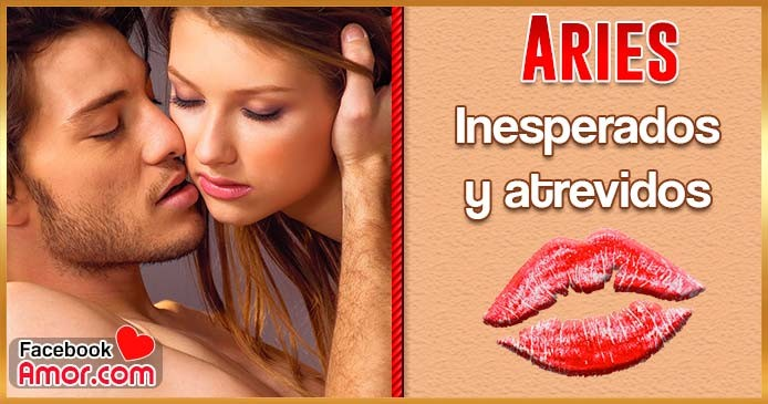 como besa Aries