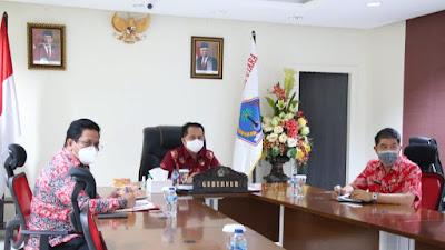 Pjs Gubernur Fatoni Ikuti Rakornas Pengendalian Inflasi 2020 Bersama Presiden Joko Widodo