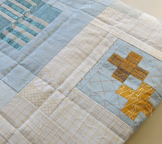 2016 Finish-Along - Quarter #3 list - Modern sampler quilt
