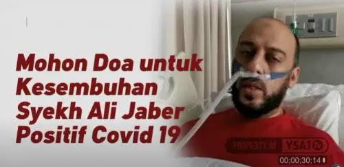 Terpapar Covid-19, Syekh Ali Jaber Sesak Napas dan Kenakan Ventilator