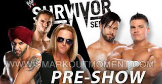 Download Watch WWE Survivor Series 2012 PPV on YouTube Preshow 3MB vs Justin Gabriel and Tyson Kidd