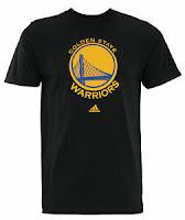 Adidas NBA Men's Golden State Warriors Primary Logo T-shirt