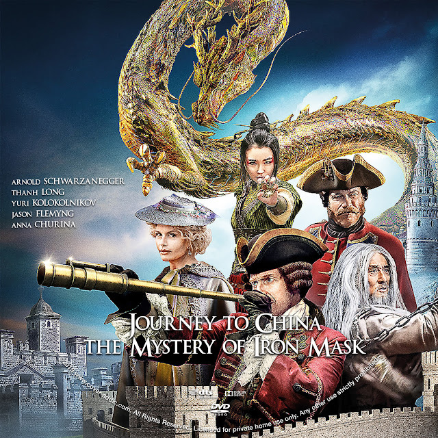 Journey to China The Mystery of Iron Mask DVD Cover