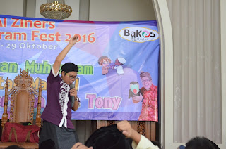 Kak Tony Mendongeng di SDI Azahra Vila Dago Pamulang