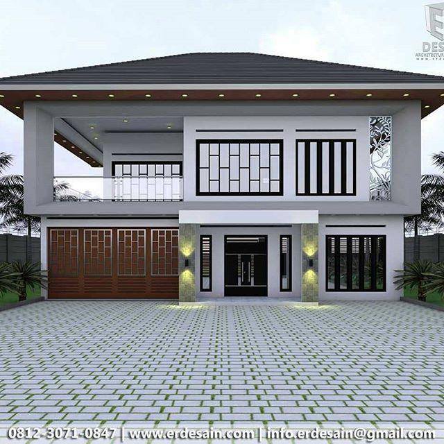 Aksesoris 39 Desain Rumah Minimalis Sederhana Biaya Murah ...