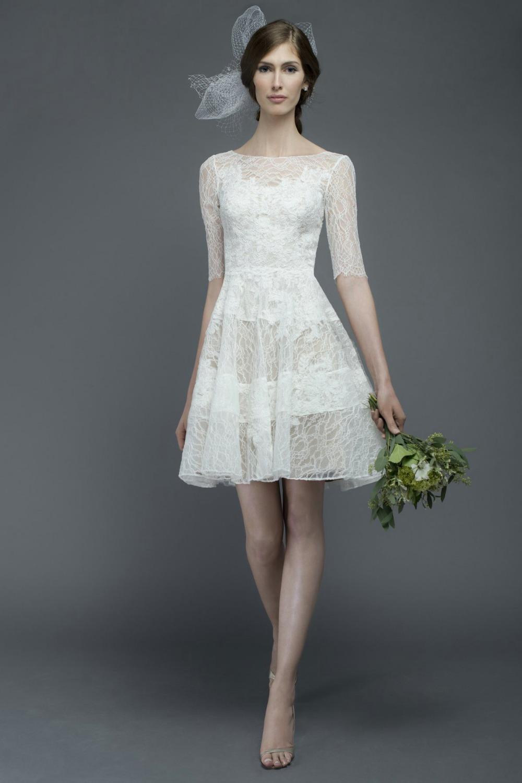 Elegant Simple Short Wedding Dresses  wedding dresses