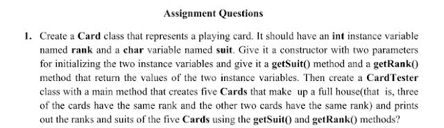 Java Assignment