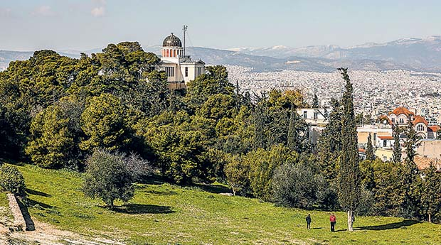 Αθήνα: Μικρή περιήγηση στο ανάγλυφο της πόλης